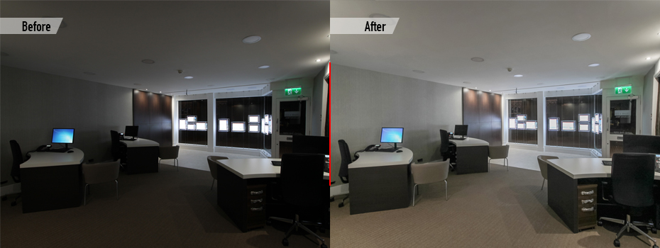 Brightness and contrast adjustment services
